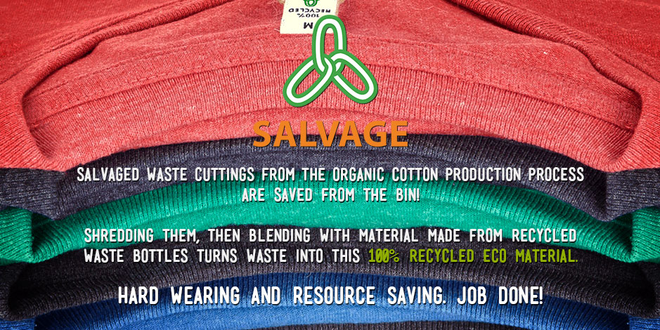 Salvage fabric Information, Conquer Gear infographic