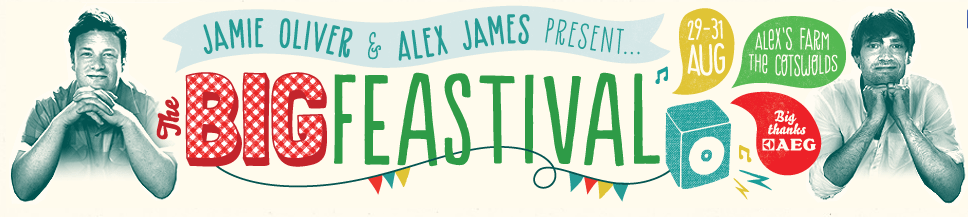 Jamie oliver and alex james present - The Big Feastival