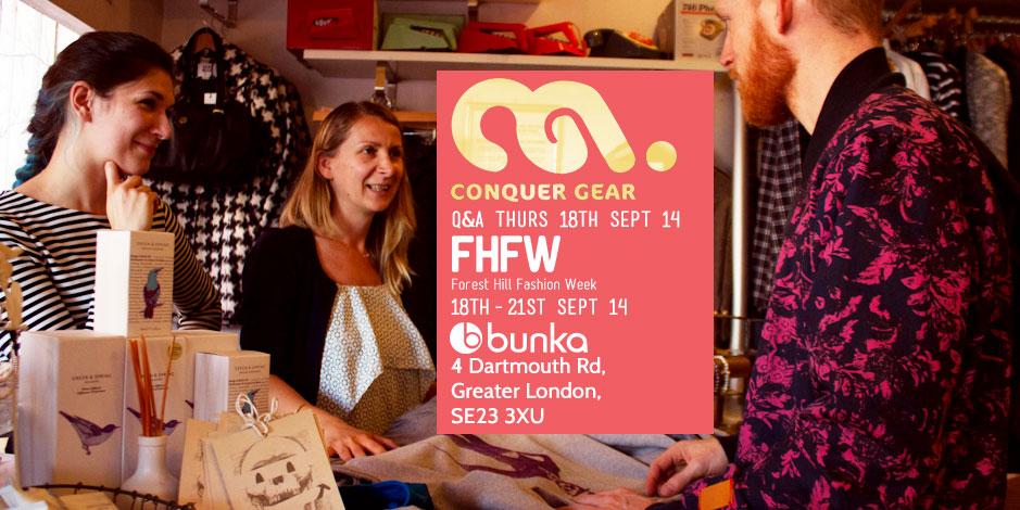 Forest Hill Fashion Week Conquer Gear