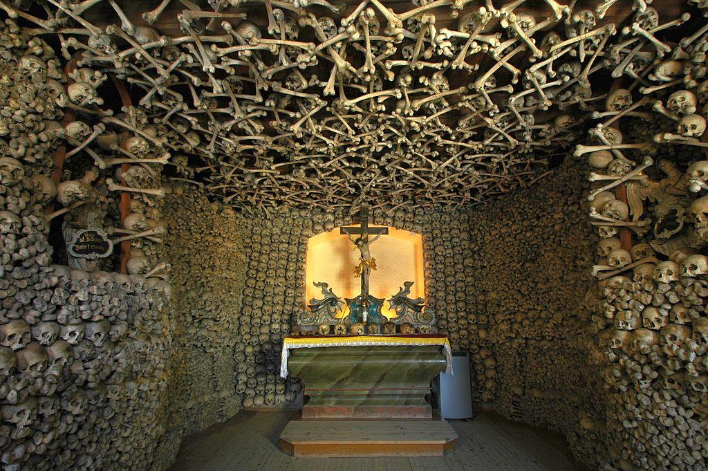 Czermna Chapel of Smiley Skull